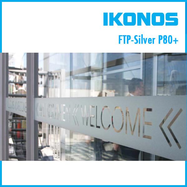 Пленка IKONOS Profiflex DECO FPT-SILVER P80+  1,27х25м