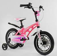 """Велосипед 14"""" Corso MG-14 S 706 магниевая рама, алюмин. двойные диски с усиленной спицей, дисковые тормоза"""