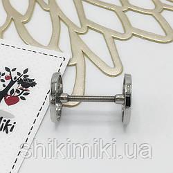 Штанга декоративная SH06-1 (20 мм), цвет никель