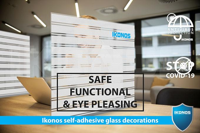 Пленка IKONOS Profiflex Deco Art Series Linea PPT LS38+ no.1  1,51х30м