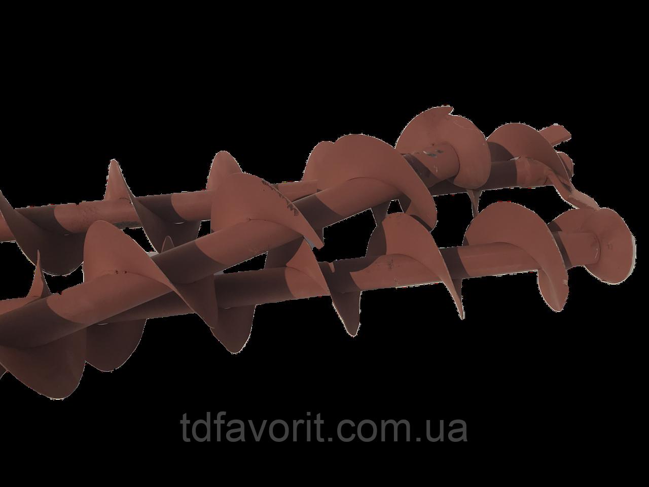 Шнек выгрузной ЗСК-10.011.020-У удлиненный