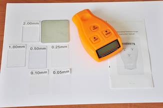 Толщиномер GM200 - измеритель толщины лакокрасочного покрытия .(полный комплект)
