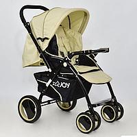 Коляска детская JOY Т 100 Бежевый GBK-005, КОД: 126096