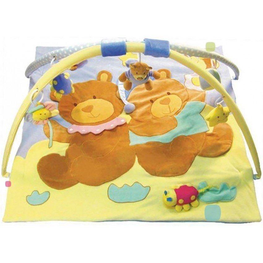 Развивающий коврик для ребенка Мишки baby mix 3090