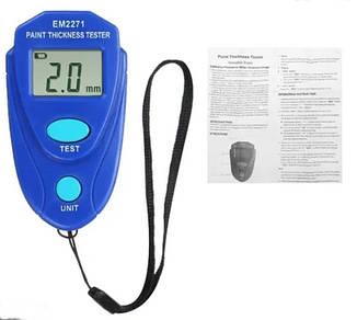 Толщиномер EM2271 - индикатор толщины лакокрасочных покрытий для автомобилей (любых типов краски)
