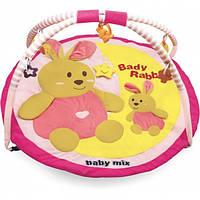 Развивающий коврик для ребенка Кролики baby mix 3168