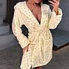 Женский теплый домашний халат Турция
