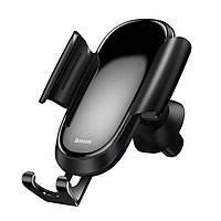 Автомобильный держатель для телефона Baseus Future Gravity Car Mount Black