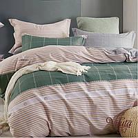Двуспальное постельное белье сатин Вилюта  Viluta