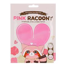 Гидрогелевые патчи для глаз и скул Secret Key Pink Racoony Hydro-Gel Eye & Cheek Patch Stick