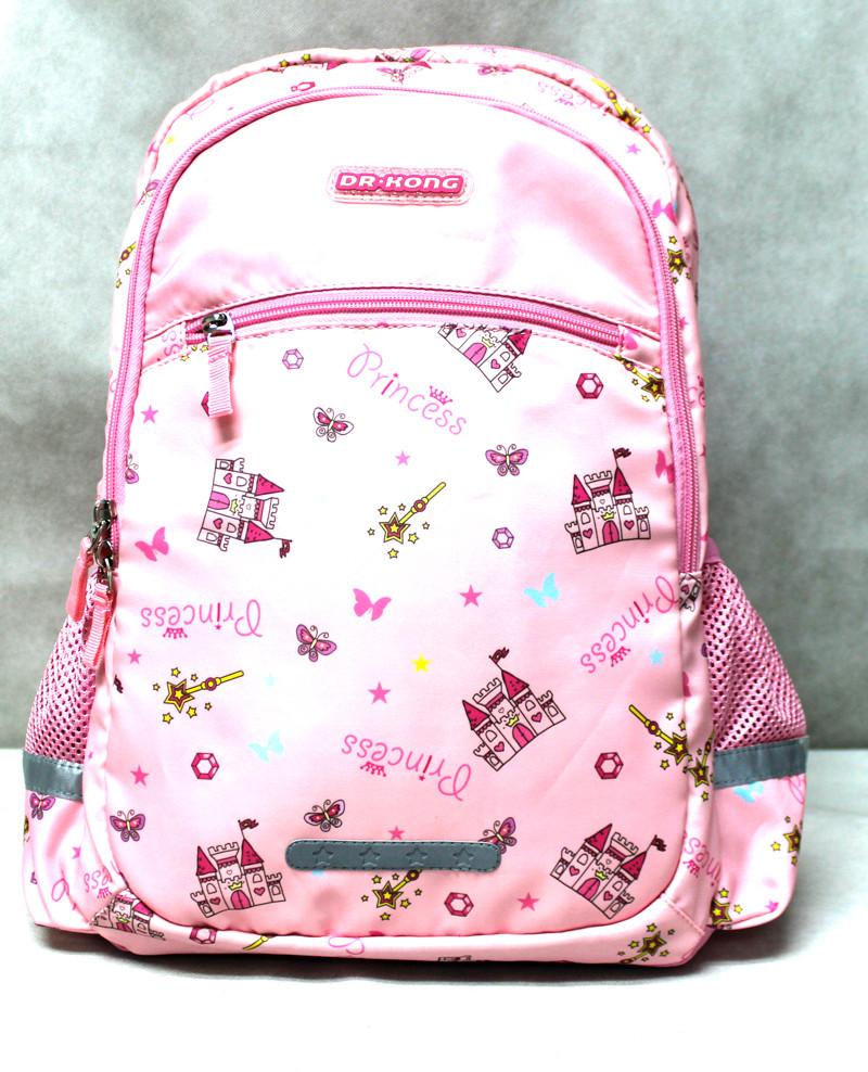 Рюкзак шкільний ортопедичний, Dr.Kong Z1200064, рожевий, розмір M,
