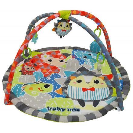 Развивающий коврик для ребенка ежик baby mix
