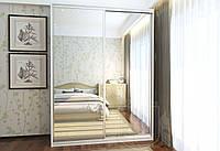 Шкаф - купе (1300*600*2200) фасад обычные зеркала