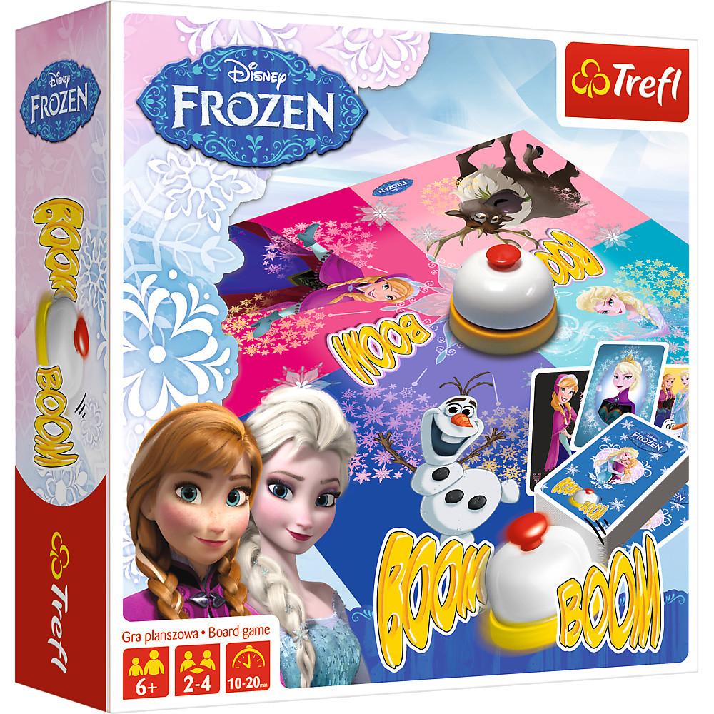 Настольная игра Boom-Boom. Disney Frozen (Бум-Бум. Холодное сердце)