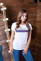 """Современная коттоновая футболка для современной девушки """"Мэль"""""""