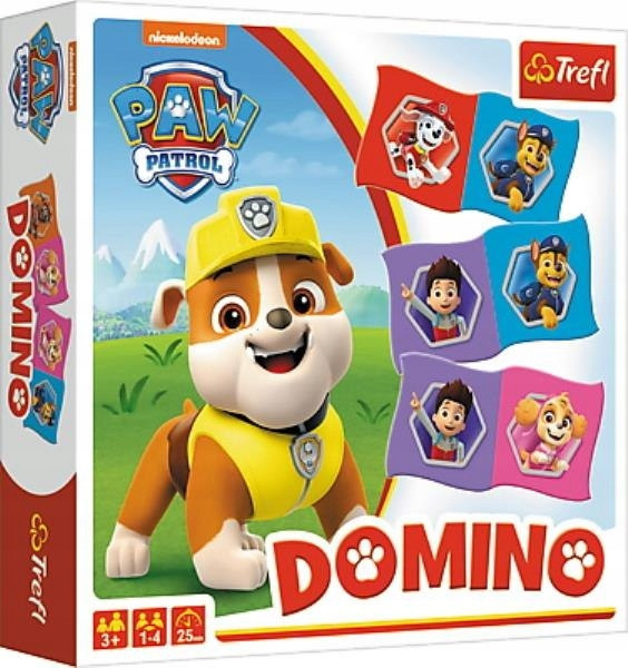 Настольная игра Доміно: Щенячий патруль (Домино: Щенячий патруль)