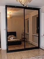 Шкаф - купе (1700*600*2200) фасад зеркало бронза 2 двери