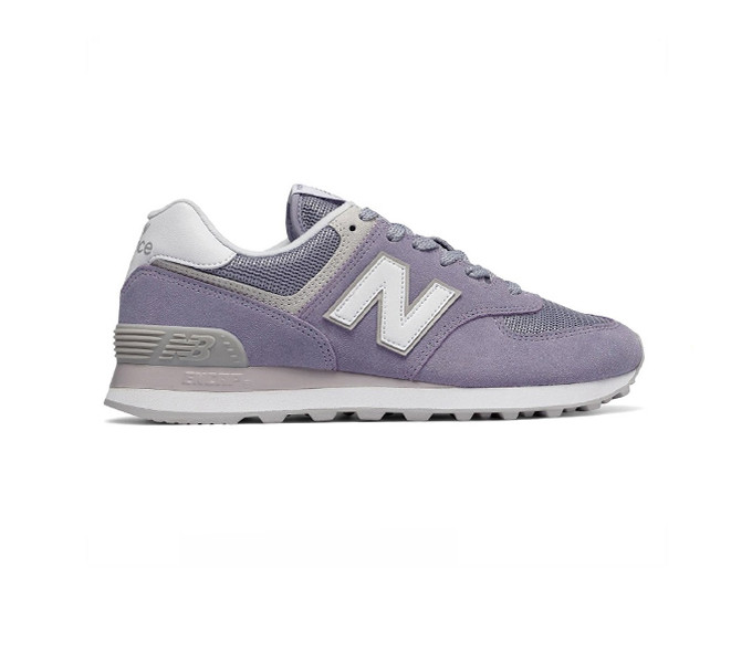 Кроссовки New Balance 574 Modern Classics Suede Violet White Фиолетовые женские WL574ESV