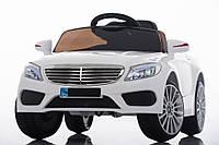 Детский легковой электромобиль Mercedes (белый цвет) с пультом дистанционного управления