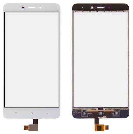 Сенсор (тачскрін) для Xiaomi Redmi Note 4 білий, фото 2