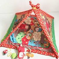 Развивающий коврик для ребенка  baby mix 3312 с бортиками