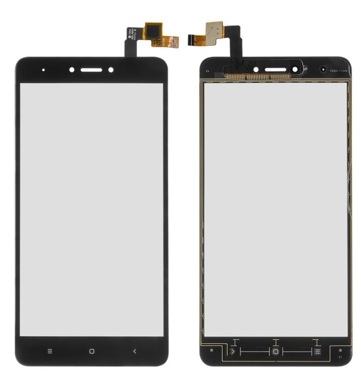 Сенсор (тачскрін) для Xiaomi Redmi Note 4X чорний Оригінал