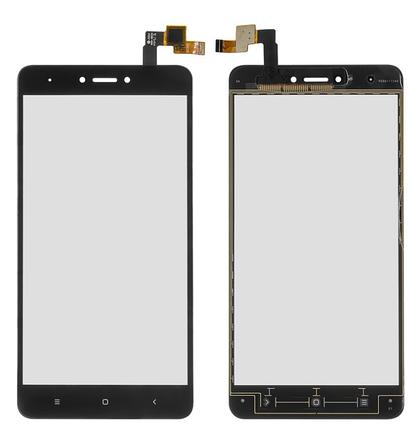 Сенсор (тачскрін) для Xiaomi Redmi Note 4X чорний Оригінал, фото 2