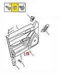 Гайка самореза Geely CK / CK2, фото 2