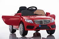 Детский легковой электромобиль Mercedes (красный цвет) с пультом дистанционного управления