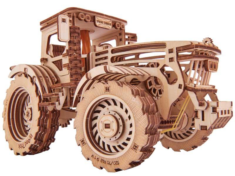 """3D пазл """"Трактор"""" деревянный конструктор"""