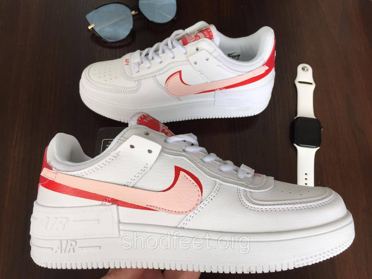 Кроссовки Nike Air Force 1 Low White Rouse