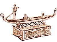 """3D пазл """"Гондола"""" деревянный конструктор, фото 1"""