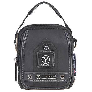 Сумка-кошелёк вертикальная YADAN   11х14х6 чёрная кс1026, фото 2
