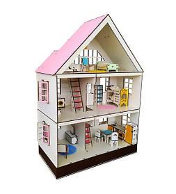 Будиночок для LOL. Будиночок для маленьких ляльок ЛОЛ 2109 Таунхаус LOL з меблями, текстилем і сходами