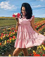 Летнее платье женское Софт Размер 42 44 46 48 50 52 54 56 58 В наличии 5 цветов