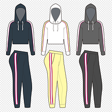 Женские спортивные костюмы