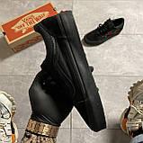 🔥 Кроссовки Vans Old Skool Black ART Rose Ванс Олд Скул Черный 🔥 Вэнсы Олд Скул 🔥 Ванс женские кроссовки🔥, фото 2