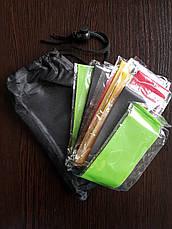 Набор фитнес резинок Latex band (В комплекте 5 штук+мешочек для хранения), фото 2
