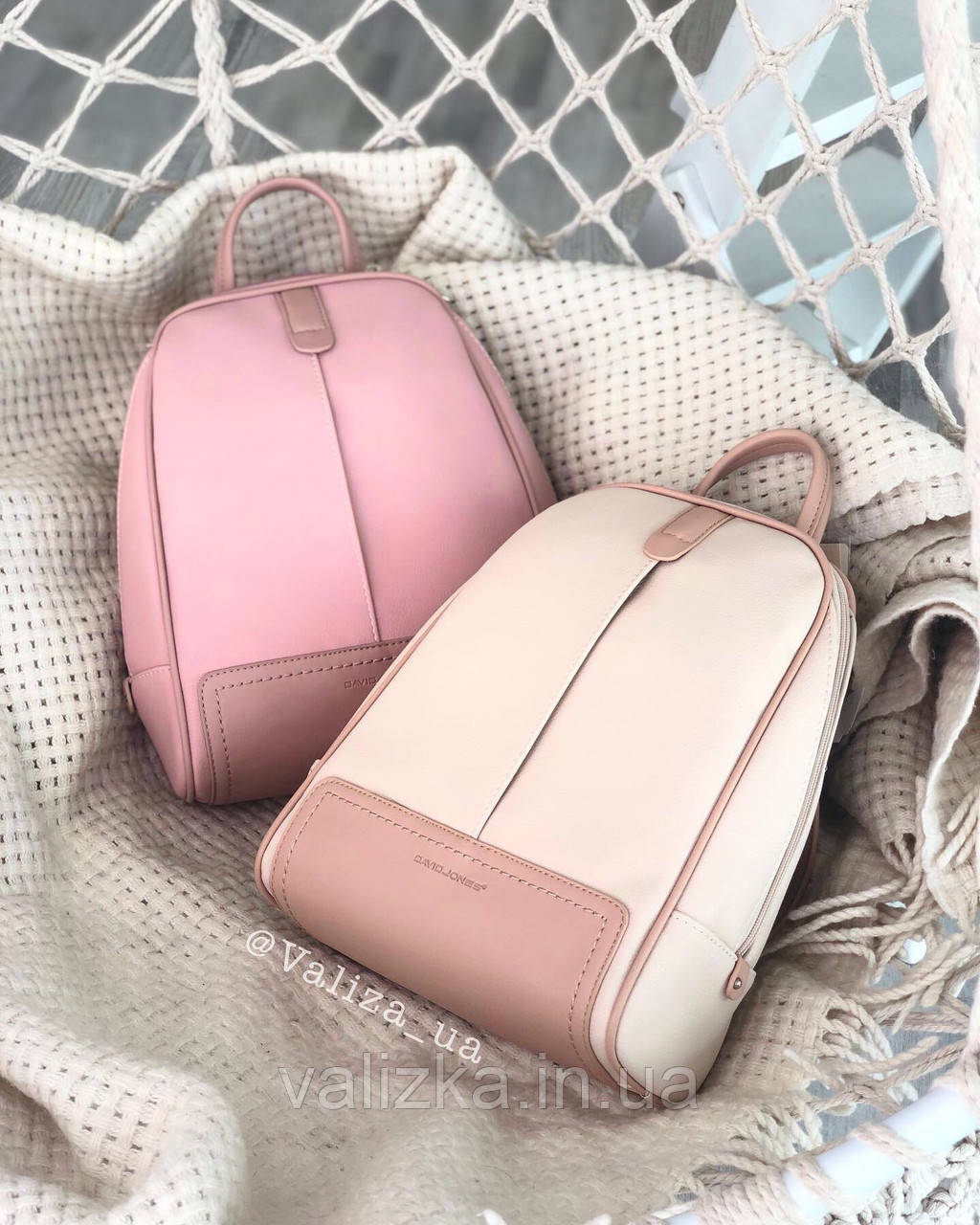 Рюкзак David Jones жіночий рожевий 5663