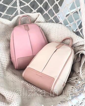 Рюкзак David Jones жіночий рожевий 5663, фото 2