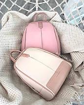 Рюкзак David Jones жіночий рожевий 5663, фото 3