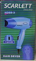 Фен для волос Scarlett HD 68-3!Хит цена, фото 3