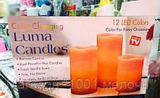 Светодиодные свечи Luma Candles с пультом, фото 2