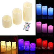 Светодиодные свечи Luma Candles с пультом, фото 3