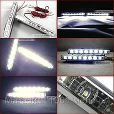 LED Авто Фара Ходовые огни DRL-9W комплект ( 2шт), фото 3