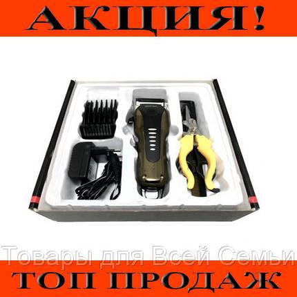 Машинка для стрижки животных Gemei GM 6063!Хит цена, фото 2