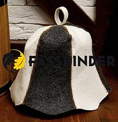 Шапка для бани и сауны Fassbinder™ комбинированный войлок