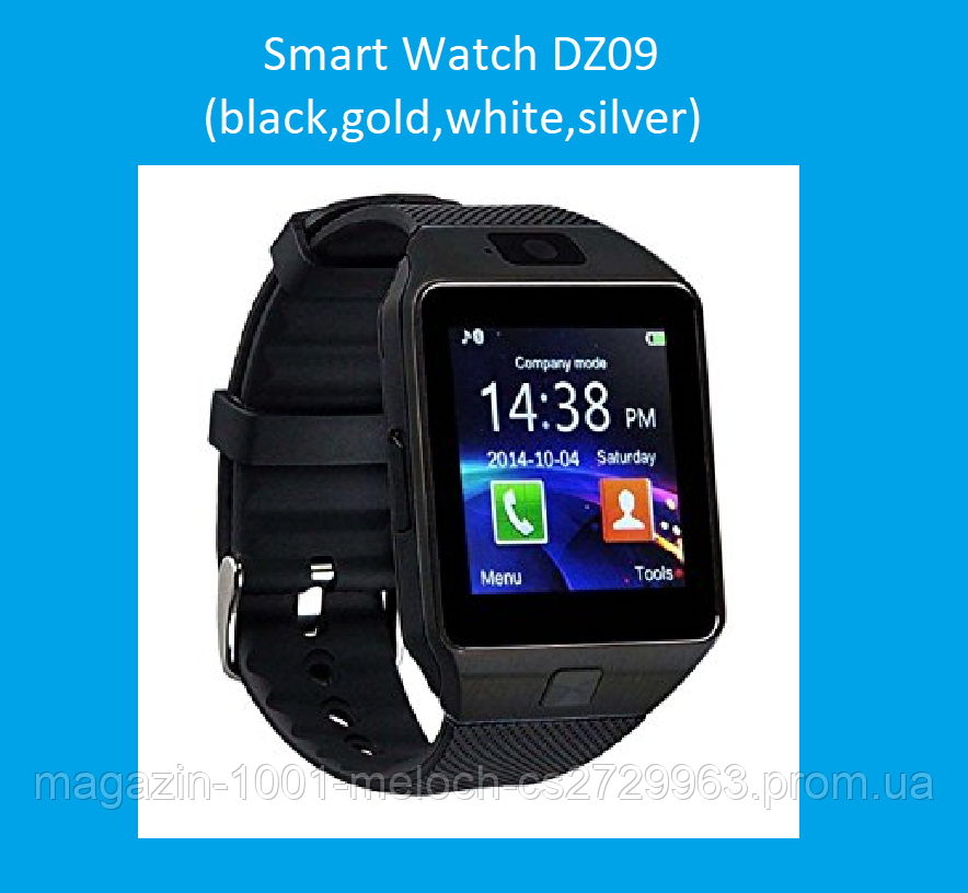 Смарт часы Smart Watch DZ09 (black,gold,white,silver)