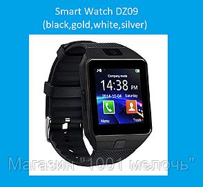 Смарт часы Smart Watch DZ09 (black,gold,white,silver), фото 2