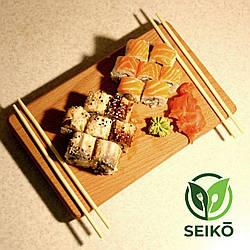 Доска для подачи суши Seikō™ 280х170 мм, бук